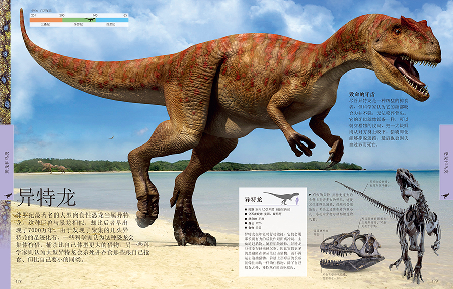 dk儿童恐龙百科全书图片